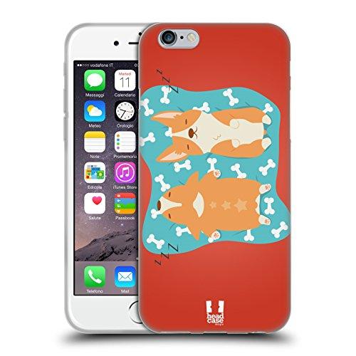 Head Case Designs Hello Vie D'un Corgi Étui Coque en Gel molle pour Apple iPhone 5 / 5s / SE Asleep