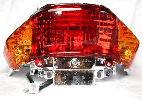 Rücklicht Orange 4 Takt China Roller Baotian, Rex RS450, MKS Ecobike, Qingqi, Benzhou