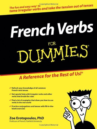 French Verbs For Dummies