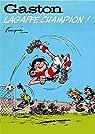Gaston - hors-série, tome 6 : Lagaffe champion ! par Franquin