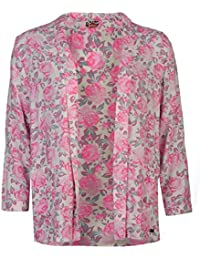 Lee Cooper All Over Print chaqueta Blazer para mujer rosa Outerwear, rosa, extra-large