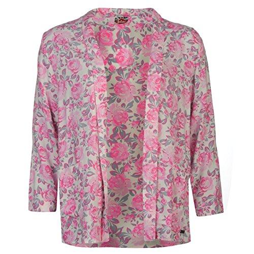 Lee Cooper All Over Druck Blazer Damen Pink Jacke Oberbekleidung XS rose