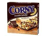 Corny Müsli-Riegel Dunkle-Schokolade, 5er Pack (5 x 138 g Packung)