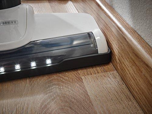 Leifheit Regulus PowerVac 2en1 Aspiradora barredora, Negro, Azul, Blanco, único