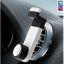 Per ZTE Blade V9 Porta Telefono Smartphone monte titolare montaggio Supporto per auto Universal bianco Staffa Culla Cruscotto Facile da installare per ZTE Blade V9 Semplice, funzionale, sicura, confortevole, universalmente - K-S-Trade(R)