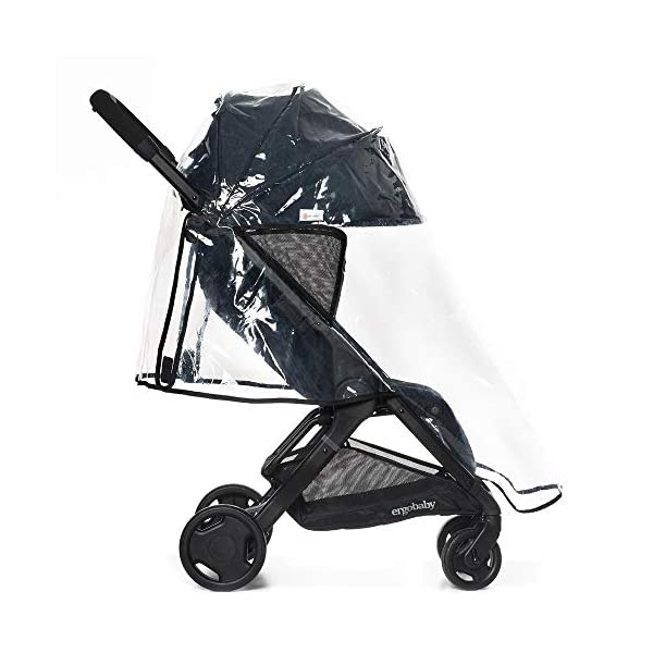 ErgobabyMetro Lightweight Buggy Stroller Pushchair with Sun-Shade Canopy One Hand Foldable, 6Months to 18kg Toddler (Grey) Ergobaby A stroller that knows no limits. The ErgobabyMetro Strollers are ultra compact and fits effortlessly into small car boots and most aeroplane luggage compartments. An ideal baby and infant travel system. Baby comfort without compromise - soft, comfortable Stroller packed with plush, cushy padding that supports baby's head, back, bottom and legs . Advanced multi-zone support, and an adjustable footrest give your baby a comfortable seat. The gentle suspension and the shock absorbing PU tyres effortlessly tackle challenges such as kerbs, cobblestones and paving stones. Padded handle and strap. Storage tray for bags and shopping. 2