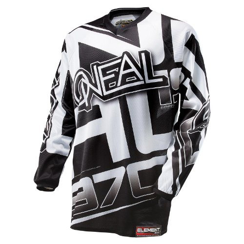 Mx Jersey Oneal 2014 Element Nero-Bianco (L , Nero)