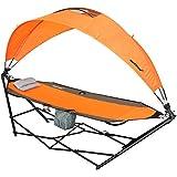 driftsun portátil césped, Patio y Camping hamaca con toldo de sol protección y comodidad