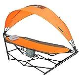 driftsun Tragbare Rasen, Terrasse und Camping Hängematte mit Dach für Sun Schutz und Komfort
