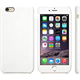 "iProtect® Apple iPhone 6 (4,7"") 6s Hülle Silikon Soft Case weiß"
