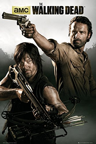 GB eye LTD, The Walking Dead, Rick & Daryl, Maxi Poster, 61 x 91,5 cm
