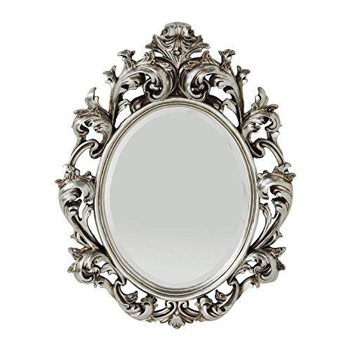 Preisvergleich spiegel sun king oval silber 80 x 60 cm for Spiegel oval silber