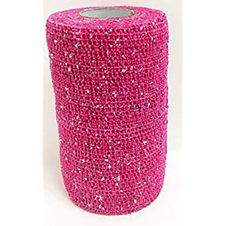 Andover Unisex's AND0185 Powerflex Glitter Bandages, Pink, Regular