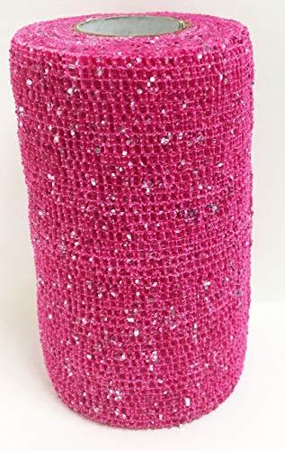Powerflex Glitter Bandage 4'' (Pink Glitter)