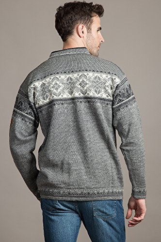 Dale of Norway Herren Blyfjell Sweater Smoke/Dark Charcoal/Off White/Light Charcoal