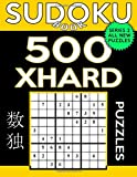 Sudoku Book 500 Extra Hard Puzzles: Sudoku Puzzle Book With Only One Level of Difficulty: Volume 16 (Sudoku Book Series 2)