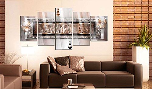 murando - Acrylglasbild Abstrakt 200x100 cm - 5 Teilig - Glasbilder - Wandbilder XXL - Wandbild - Bilder a-C-0032-k-p - 4