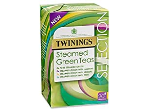 Twinings Green Teas Green Steamed Selection - 4 x 20 bags