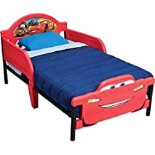Delta Children Disney Cars Toddler Bed, Bb86973Cr, Red