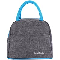 HiChange Lunch Bag, Bolsa Isotermica porta alimentos Bolsa de Almuerzo (Gray-Style2)