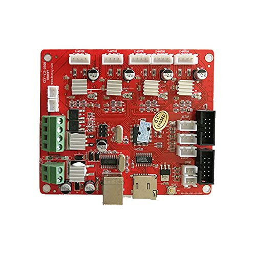 DRLLYY 3D Drucker Mainboard Control Board 12864 LCD Modul Mendel Control Motherboard for Ramps1.4 Update Version 3D Zubehör Home-screening-kit