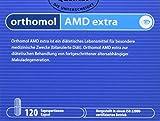 Orthomol AMD extra 120 Kapseln - Augen Vitamine gegen Makuladegeneration - Lutein & Zeaxanthin bei Makula Degeneration