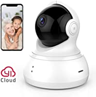 YI Home Camera 360 Degree Security Surveillance with Motion Detection, 2-Way Talk, Remote View APP and Cloud Storage...
