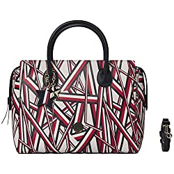 Tommy Hilfiger Charming Tommy Satchel Corporate Print
