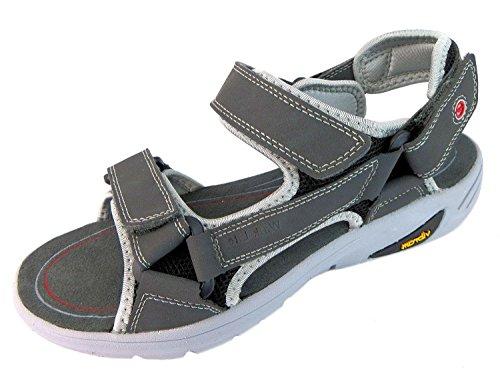 Hi-Tec VL Walk-Lite Ranger, da uomo open toe sandali, grigio (Grey), 40