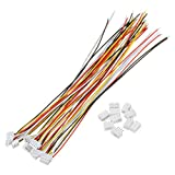 ILS - 10 Sets Mini Micro JST 1.5mm ZH 4-Pin Connector Plug mit Wires Cables 150mm