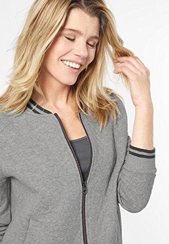 Cecil - Sweat-shirt - Uni - Femme Gris clair chiné