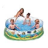 VBE Intex Underwater Fun Swimming Pool- 6 Feet