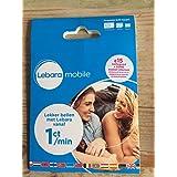 Lebara NL Prepaid 3 in 1 4G sim card with €15 + 50MB internet karte Netherlands Holland Niederlande