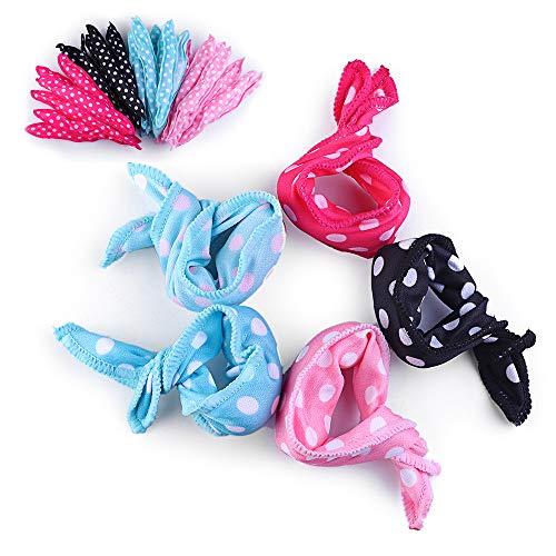 40 rulos de pelo de espuma HailiCare para bricolaje, rizadores flexibles y suaves, sin calor para mujeres...