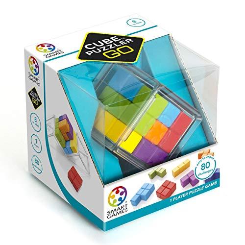 Smart Games- Cube PUZZLER GO, (SG412)