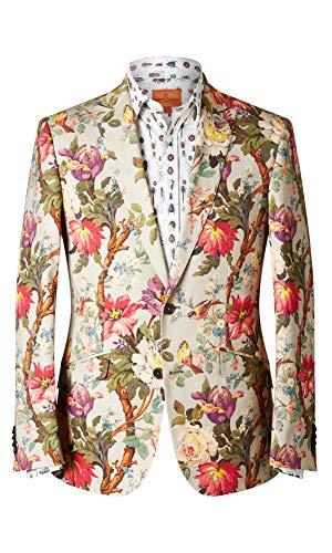 Peak Revers Blazer (Simon Carter Damen Jacke Liberty Floral Lady Kristina Gr. 54, Multi)