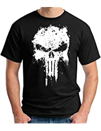 35mm - Camiseta Hombre - The Punisher - Mancha