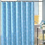 Ezeso (59.1' x 78.7) Polyester Shower Curtains with 12 Shower Curtain Hook Hanging Ring Mediterranean Style
