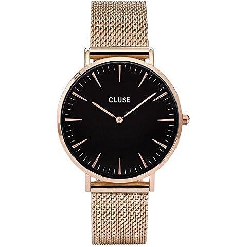 Cluse Damen Armbanduhr Analog Quarz Edelstahl CL18113