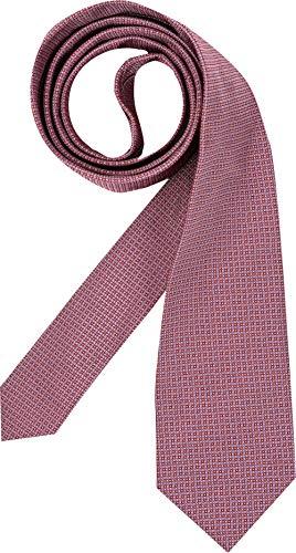 Hugo Boss Herren Krawatte Herren-Accessoire Uni & Uninah, Größe: Onesize, Farbe: Rot