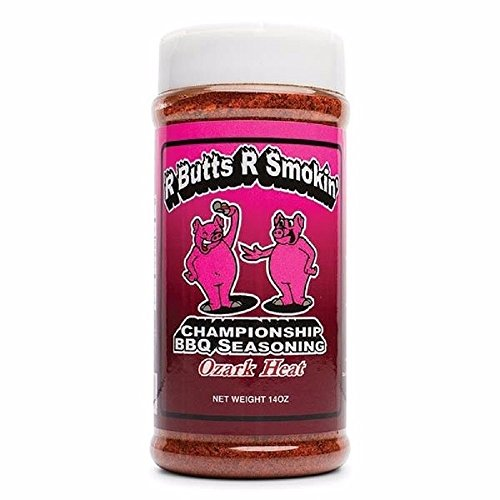 R-Butts-R-Smokin' 'Ozark Heat' All-Purpose Championship BBQ Rub - 396g (14 oz) -