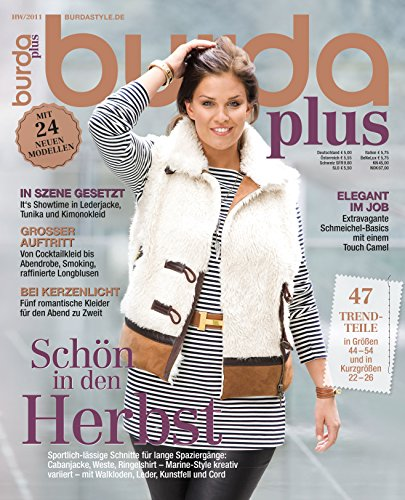 Burda plus H/W 2011 Nähmagazin Nähheft (Vintage-mode-magazin)