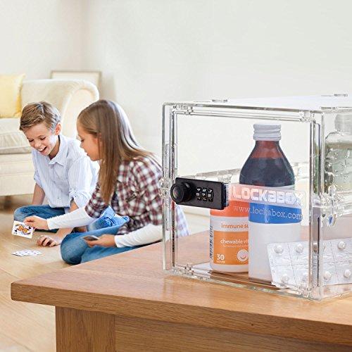 51anXk6yBQL - Lockabox One | Caja de seguridad compacta e higiénica para alimentos, medicinas y seguridad en el hogar