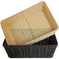 Lx.AZ.Kx Tessuto di plastica cesti cesto Rattan emulazione pronti ad