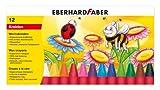 Eberhard Faber 524010 - Wachsmalkreiden im Kartonetui