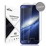 Wrcibo Elephone S7 Film protecteur 2pcs protecteur écran verre trempé film protection pour Elephone S7 Verre blindé, dureté 9 h, 0,26 mm, invisible, résistant aux rayures