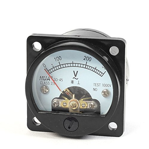 45mm Durchmesser Runde Panel-Analog-Volt-Dial Meter SO-45 AC 0-300V (Runde Dial Meter)