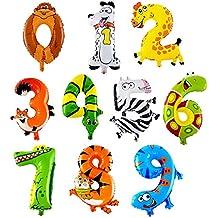 Animales, Números, Decoraciones, Globos, Globos de Cumpleaños, Bodas, Fiestas,