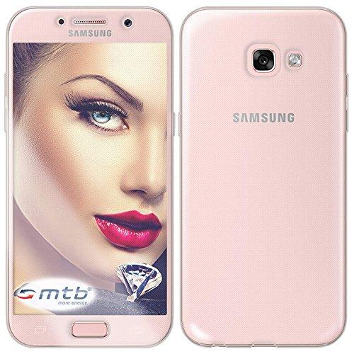 mtb more energy Custodia TPU Doppio (Davanti e Dietro) per Samsung Galaxy A5 2017 (SM-A520F, 5.2'')   Protezione 360 Gradi