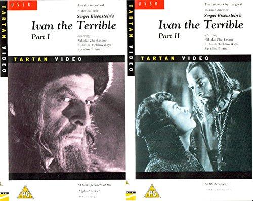 Ivan The Terrible - Part 1 And Part 2 - The Boyars Plot [2 VHS] [UK Import]